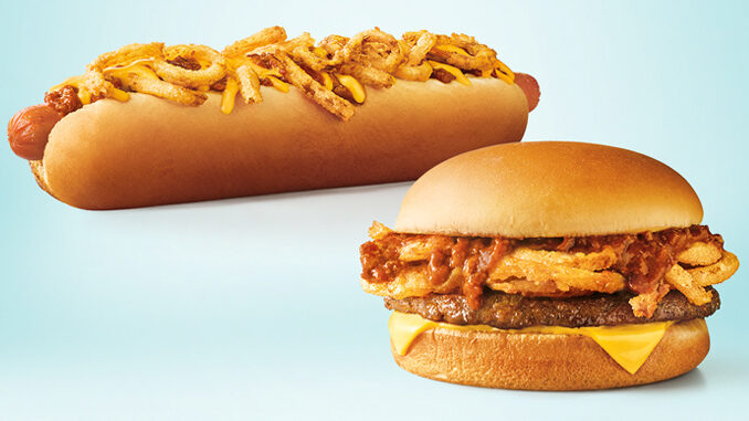 Sonic Unveils New Twisted Texan Cheeseburger And New Twisted Texan Footlong Quarter Pound Coney