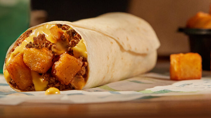 The $1 Beefy Potato-Rito Returns To Taco Bell On April 15, 2021
