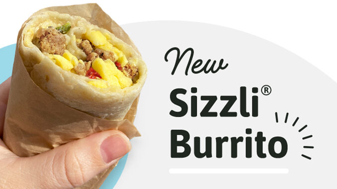 Wawa Introduces New Sizzli Burrito As Part Of 2 For $4 Sizzli Deal