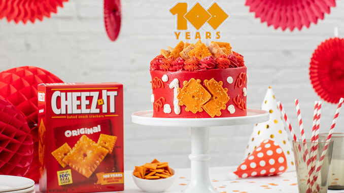 Cheez-It Celebrates 100 Years With Release Of Limited-Edition Cheez-Itennial Cake On May 17, 2021