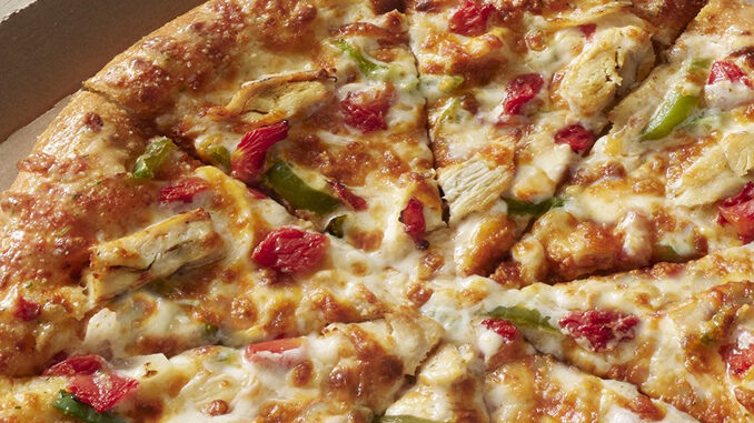 Domino's Offers 49% Off Any Pizza Ordered Online For Carside Delivery Through May 23, 2021 (4-9 PM)