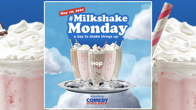 IHOP Offers All-You-Can-Drink Milkshakes In Honor Of Adam Sandler On May 10, 2021 (Select Locations)