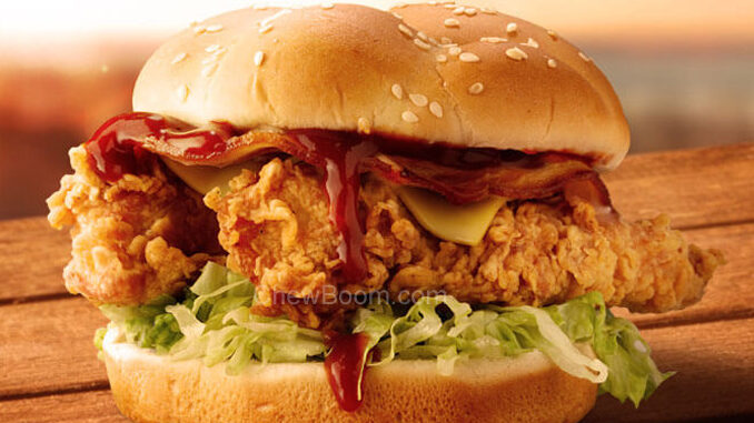 KFC Launches New Craft Beer Burger And New Beer Marinated Tenders In Australia
