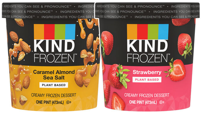 Kind Introduces New Line Of Plant-Based Ice Creams