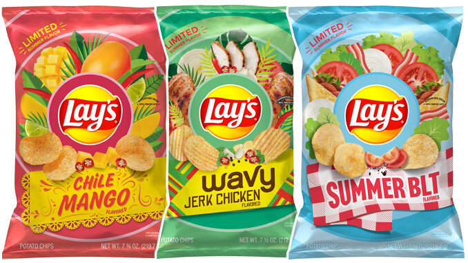 Lay's Introduces New Chile Mango, Wavy Jerk Chicken, And Summer BLT Summer Chip Flavors