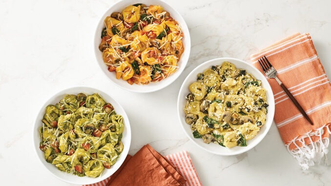 Noodles & Company Debuts 3 New Stuffed Pasta Dishes Made With Tortelloni Pasta