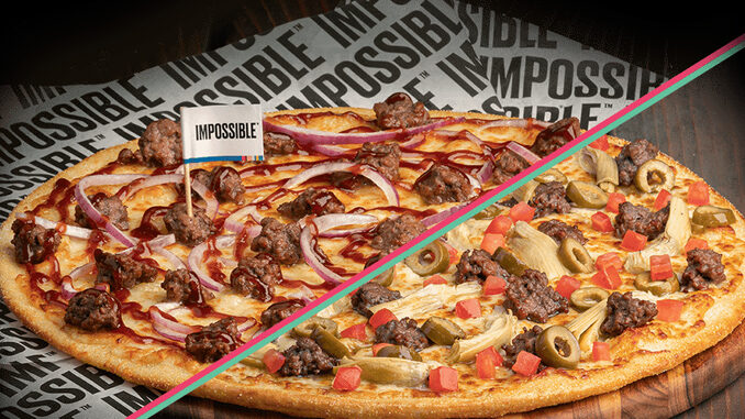 Pizza Guys Introduce New Impossible Beef BBQ Pizza And New Impossible Artichoke Pesto Pizza