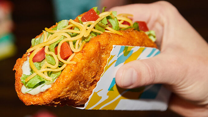 The Naked Chicken Chalupa Returns To Taco Bell On May 20, 2021