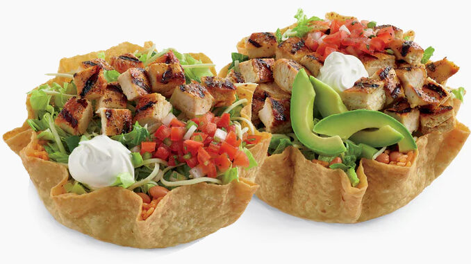 Tostada Salads Are Back At El Pollo Loco For A Limited Time