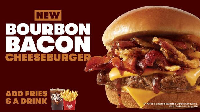 Wendy's Introduces New Bourbon Bacon Cheeseburger