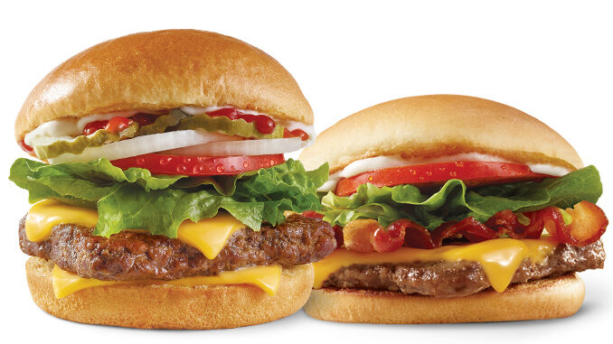 Wendy's Offers Free Dave's Single Or Junior Bacon Cheeseburger With Any App Purchase On May 28, 2021