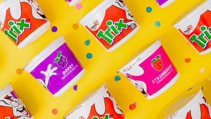 Yoplait Welcomes Back Trix Yogurt