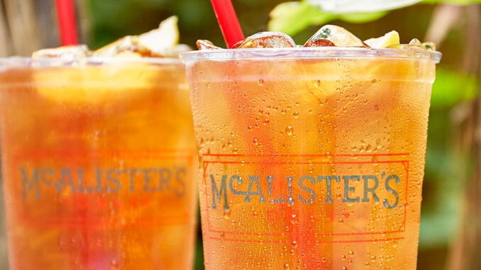 Buy A $6.99 McAlister's Tea Pass, Get One Free Sweet Tea Daily For 30 Days