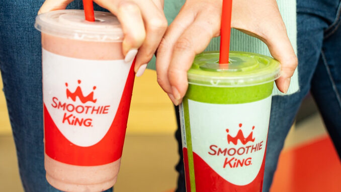 Buy One, Get One Free Smoothie In The App At Smoothie King On June 21, 2021