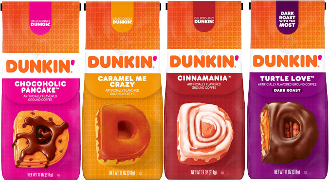 Dunkin' Introduces 4 New At Home Coffee Flavors