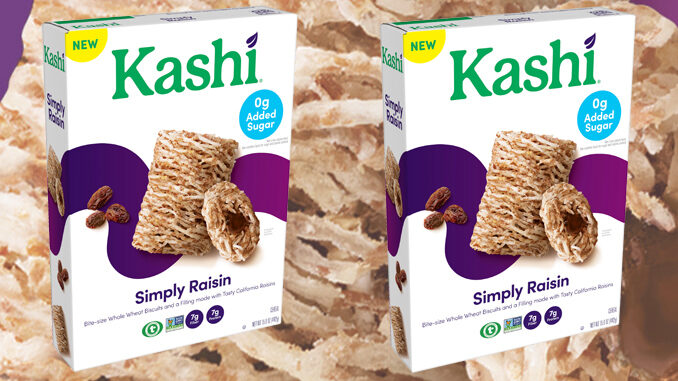 Kashi Launches New Simply Raisin Biscuit Cereal With Zero-Grams-Added-Sugar