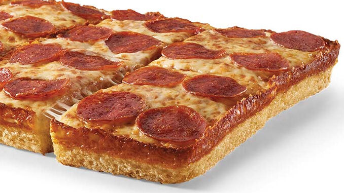 Little Caesars Offers $6 Deep! Deep! Dish Pepperoni Or Cheese Pizza Deal On June 23, 2021 (Online or in the App)