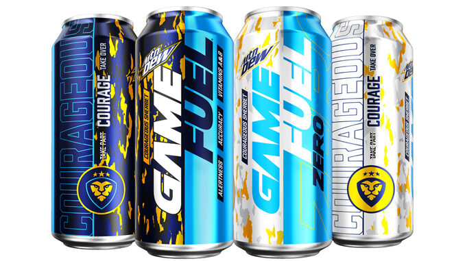 Mountain Dew Game Fuel Launches New Limited-Edition CouRageous Sherbet Flavor