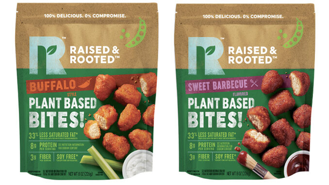 Raised & Rooted Adds New Plant Based Bites In Sweet Barbecue And Buffalo Flavors