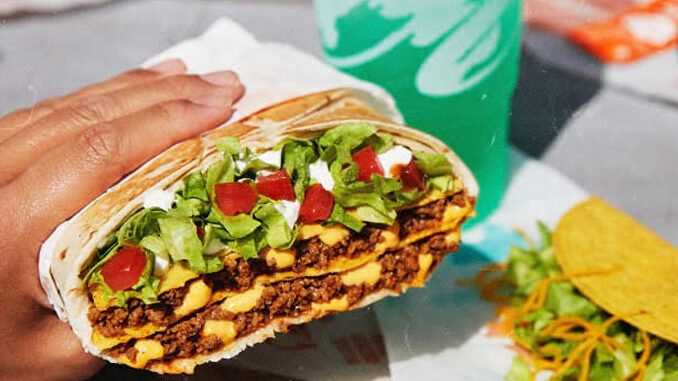 The Triple Double Crunchwrap Returns To Taco Bell As The 'Grande Crunchwrap'