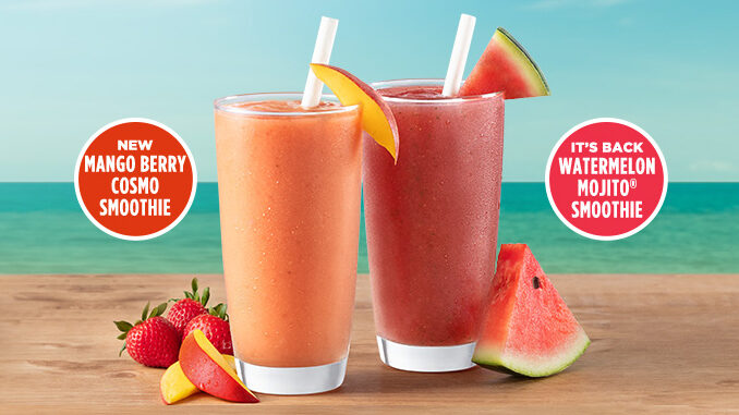 Tropical Smoothie Cafe Adds New Mango Berry Cosmo Smoothie, Brings Back Watermelon Mojito Smoothie