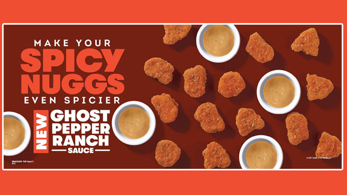 Wendy's Unveils New Ghost Pepper Ranch Dipping Sauce