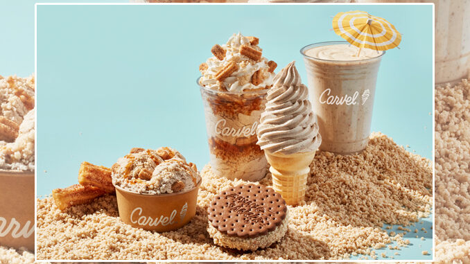 Carvel Launches New Churro-Flavored Ice Cream And New Churro Crunchies