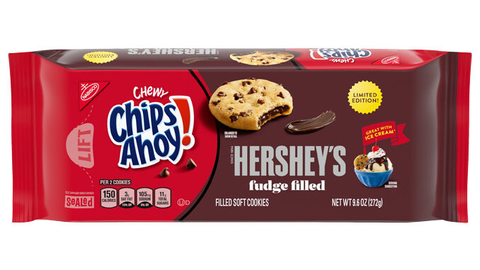 Chips Ahoy! Releases New Chewy Chips Ahoy! Hershey's Fudge Filled Cookies