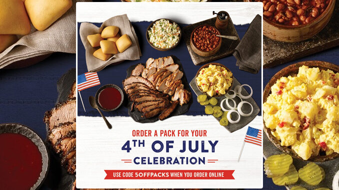 Dickey's Barbecue Pit Puts Together Big Yellow Box Deals With Free Delivery On July 4, 2021