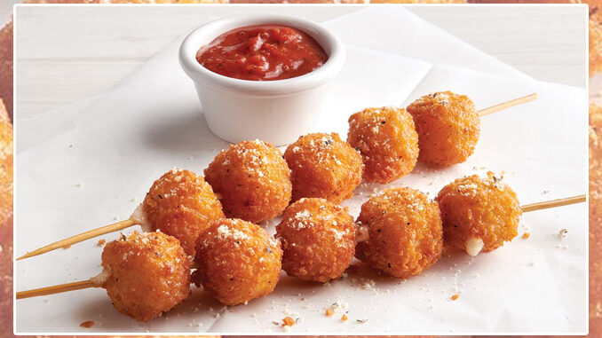 Fazoli's Puts Together New Fried Mozzarella Cheese Skewers