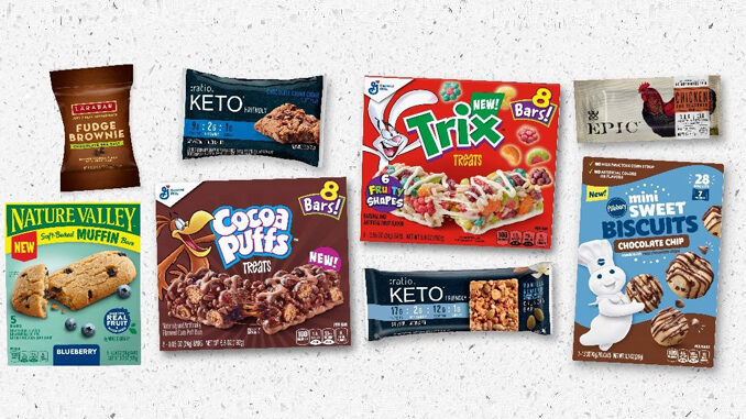 General Mills Introduces New Trix Treat Cereal Treat Bars And More As Part Of New Snacks Lineup