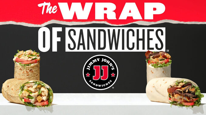 Jimmy John's Introduces New Chicken Caesar Wrap And New Beefy Ranch Wrap