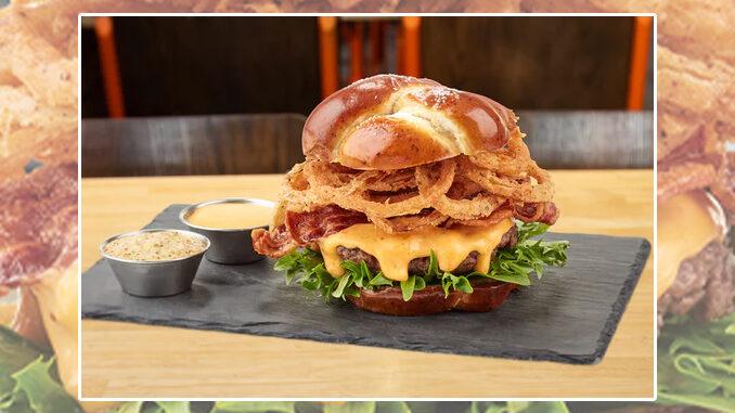 New Brew Boss Burger Arrives At The Counter Custom Burgers