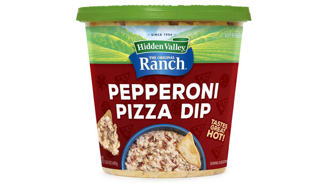 New Hidden Valley Ranch Pepperoni Pizza Dip Available Exclusively At Sam's Club