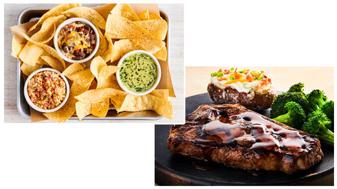 Outback Adds New Dip Trio And New Bourbon Glazed Bone-In NY Strip