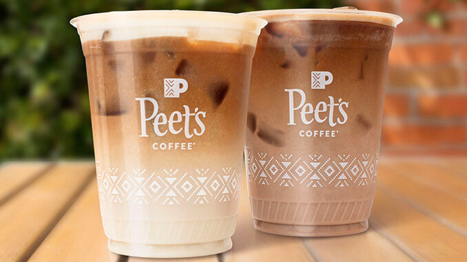 Peet's Coffee Adds New Honey And Chocolate Cold Brew Oat Lattes