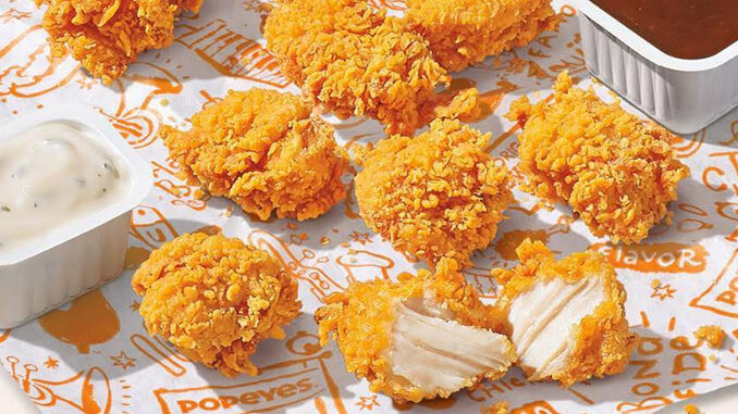 Popeyes Announces Launch Of New Chicken Nuggets Nationwide On July 27, 2021