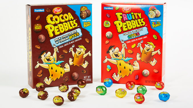 Frankford Candy Launches New Fruity Pebbles Bites And Cocoa Pebbles Bites Candies At Five Below Stores
