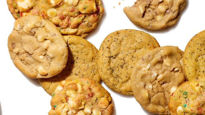 Insomnia Cookies Bakes Up New Everything Bagel Cookie As Part Of New Breakfast-Inspired Cookies Lineup