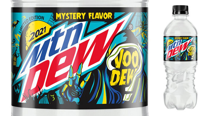 Mountain Dew Is Launching A New Voo-Dew Mystery Flavor On August 30, 2021