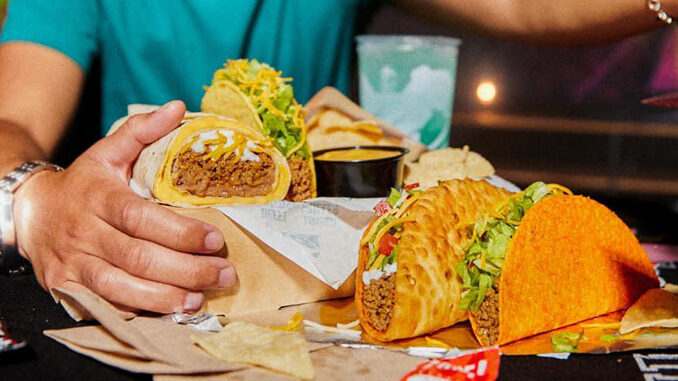 Taco Bell Is Testing A New $7 Deluxe Cravings Box In KY, OH, and WV
