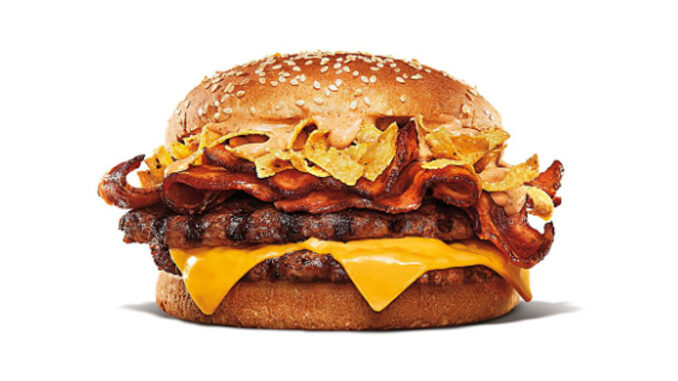 Burger King Offers New Southwestern King Topped With Tortilla Strips In Canada