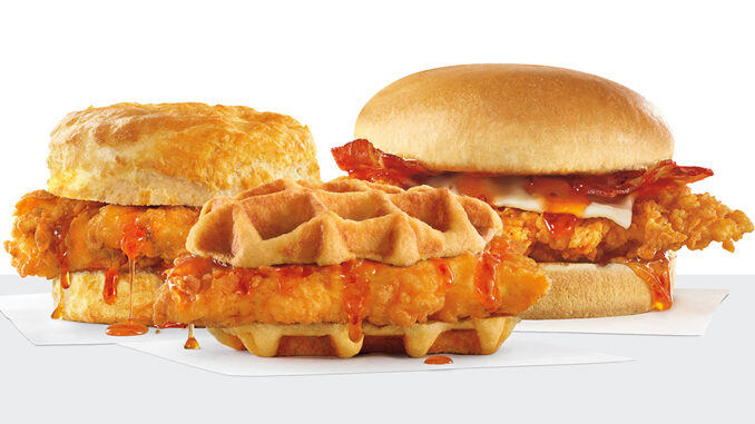 Carl's Jr. and Hardee's Launch New Hot Honey Chicken Sandwich Lineup