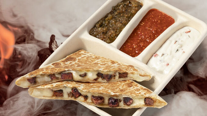 Chipotle Offers New Quesabrisket Exclusively Online And Through The Brand's App