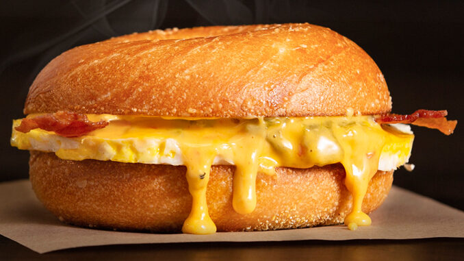 New Bacon & Queso Egg Sandwich Arrives At Einstein Bros. On September 16, 2021