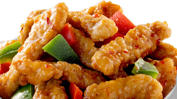 New Crispy Citrus Chicken Spotted At Panda Express