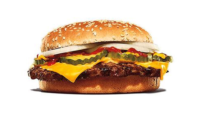 New Single Quarter Pound King Joins The 2 For $6 Mix n' Match Menu At Burger King