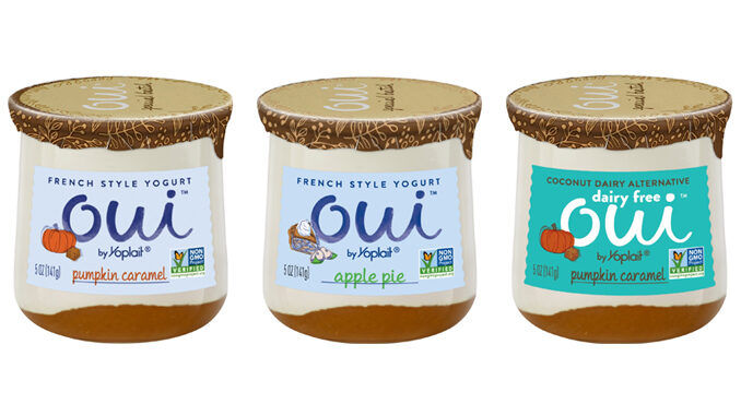 Oui By Yoplait Introduces New Dairy Free Pumpkin Caramel Flavor As Part Of 2021 Fall Lineup