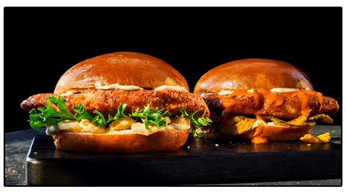 Panera Tests New Chef's Chicken Sandwiches Topped With Anchovies