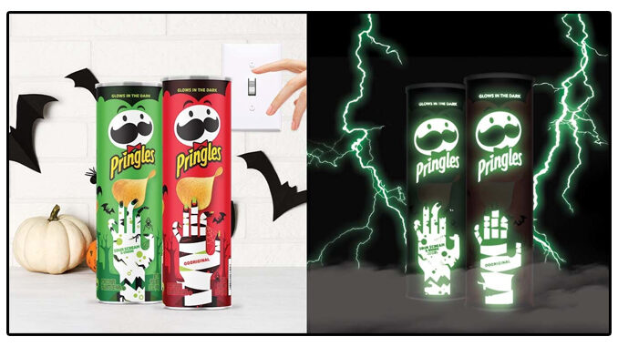 Pringles Debuts New Glow-In-The-Dark Cans For The 2021 Halloween Season